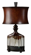 Uttermost 26750-1 Dajiro Aged Ivory 30 Inch Tall Transitional Ceramic Lamp