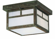 Arroyo Craftsman MCM-12 Mission Craftsman Outdoor Flush-Mount Ceiling Fixture - 12 inches wide