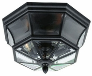 Quoizel NY1794K Newbury outdoor ceiling lamp fixture in mystic black