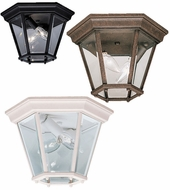 Kichler 9850 Madison Lantern Classic 10 Inch Diameter Flush Lighting Fixture