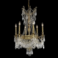 Elegant 9309D22FG-RC Esperanza 34  Tall French Gold Medium Antique Bronze Chandelier