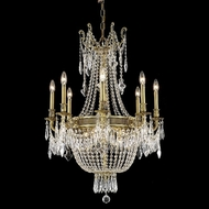 Elegant 9312D26FG-RC Esperanza French Gold 37  Tall Crystal Classic Large Chandelier