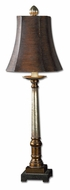 Uttermost 29058 Trent Warm Bronze And Silver Finish 33 Inch Tall Table Lighting