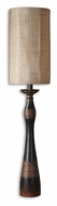 Uttermost 29161-1 Dafina Aged Black Finish 45 Inch Tall Skinny Table Lamp