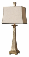 Uttermost 27392 Sordo Brushed Metal Table Lamp With Plated Coffee Bronze - 35 Inches Tall
