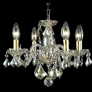 Elegant 7804D15GS-GS-RC Rococo Golden Shadow Crystal French Chandelier