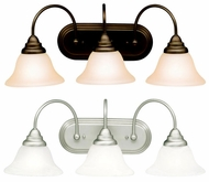 Kichler 10609 Telford Fluorescent 3 Light Contemporary Torch Vanity Lighting Fixture