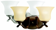 Kichler 10637 Wedgeport Transitional 2 Torch Bathroom Wall Mount Lighting Fixture