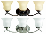 Kichler 10638 Wedgeport 3 Lamp 23 Inch Long Transitional Bathroom Lighting