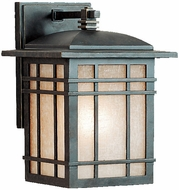 Quoizel HC8407IB Hillcrest 10 inches tall outdoor wall light fixture in imperial bronze