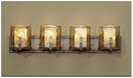 Feiss VS18904RBZ Aris Modern 4-light Bathroom Vanity Light Fixture