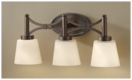 Feiss for Less VS18703HTBZ Nolan 3-light Bathroom Lighting Vanity