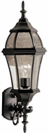 Kichler 9791TZ Townhouse 27 Inch Fluorescent Exterior Wall Sconce Lantern