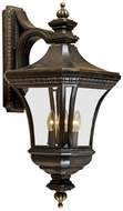 Quoizel DE8976IB Devon 21 inches tall wall outdoor light fixture in imperial bronze