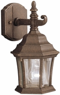 Kichler 9788TZ Townhouse 12 Inch Fluorescent Exterior Wall Sconce Lantern