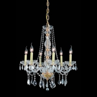 Elegant 7856D24G-RC Verona 6-light 24  Classic Gold Chandelier