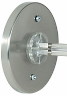 Tech 4INRDIRPWRFEED 4 Inch Round Direct-End Feed for Monorail Lighting System