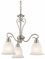 Kichler 42905NI Tanglewood Brushed Nickel Mini Chandelier