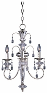 Maxim 24303CLPN Montgomery Traditional Mini 3 Light Chandelier