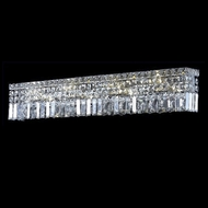 Elegant 2032W36C-RC Maxim Large 8-light Clear Crystal Bath Lighting