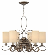 Fredrick Ramond 42506BME Monterey Small 6-light Traditional Chandelier with Shades