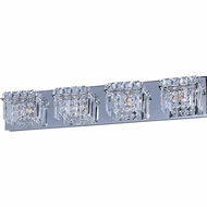 ET2 E2325420PC Bangle 4-light Modern Crystal Bathroom Vanity Lighting