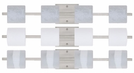 Besa 4WS7873 Paolo 4-light Modern Bathroom Vanity Lighting