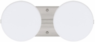 Besa 2WS773807 Ciro Contemporary 2-light Bathroom Vanity Light