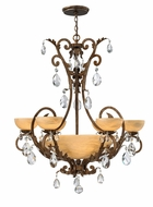 Fredrick Ramond 44102FRM Barcelona Large 10-lamp Classic Chandelier Pendant Light