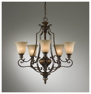 Feiss for Less F25035FGBRB Kelham Hall Traditional 5-light Chandelier