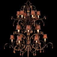 Fine Art Lamps 417540 Brighton Pavillion Extra Large 18-lamp Foyer Light Chandelier