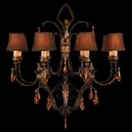 Fine Art Lamps 304040 Brighton Pavillion Small 8-lamp Traditional Crystal Chandelier Lighting