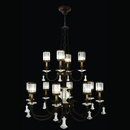 Fine Art Lamps 584740 Eaton Place 12-light Traditional Crystal Chandelier Light