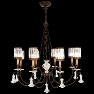 Fine Art Lamps 585240 Eaton Place Large 8-light Traditional Crystal Chandelier Lamp