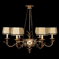 Fine Art Lamps 547940 Newport Rustic 6-light Chandelier Fixture