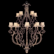 Fine Art Lamps 141940 Stile Bellagio Large Traditional Rustic 15-light Chandelier