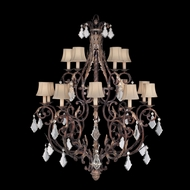 Fine Art Lamps 226540 Stile Bellagio 15-light Traditional Country Crystal Chandelier Light Fixture