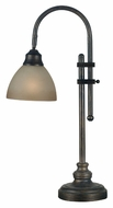 Kenroy Home 20994BH Callahan 28 Inch Tall Transitional Desk Lamp - Bronze Heritage