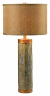 Kenroy Home 21036SL Mattias 30 Inch Tall Natural Slate Finish Table Lamp