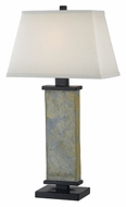 Kenroy Home 21037SL Hanover Natural Slate 29 Inch Tall Bed Lamp