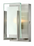 Hinkley 5650BN Latitude Contemporary Glass Wall Sconce