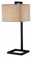 Kenroy Home 21079ORB 4 Square 30 Inch Tall Oil Rubbed Bronze Modern Table Light