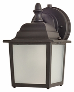 Maxim 86924EB Side Door EE Small Empire Bronze Fluorescent Outdoor Wall Lighting