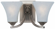Maxim 83099FTSN Aurora ES Large 2-light Fluorescent Wall Lamp Sconce