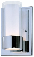 Maxim 23071CLFTPC Silo Contemporary Chrome Wall Sconce Lighting