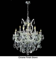 Worldwide 83006 Worldwide 13-light Crystal Style Mini Chandeliers