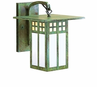 Arroyo Craftsman GB-6 Glasgow Craftsman Outdoor Wall Sconce - 8.25 inches tall