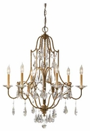 Feiss F24786OBZ Valentina 6-Light Chandelier