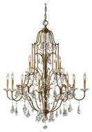 Feiss F247984OBZ Valentina 12-Light Chandelier