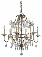 Feiss F24756GS Gianna 6-Light Chandelier